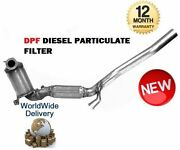 For Audi A3 1.9tdi 2.0 Tdi 2003-- Dpf Diesel Particulate Soot Exhaust Filter