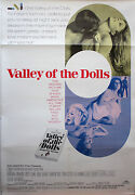Valley Of The Dolls Original Linen Backed Movie Poster