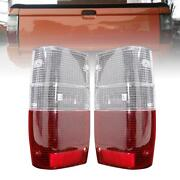 For Mitsubishi Mighty Max 1987-1996 L200 Tail Light Rear Lamp Lens Pickup Clear