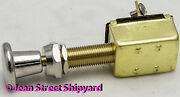 Marine Boat 2 Position Pull Push Spst Switch On-off Screw Terminals 11901