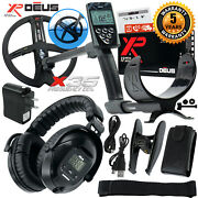 Xp Deus Metal Detector With Full Sized Headphones Remote And 9andrdquo X35 Search Coil