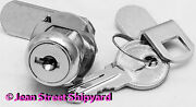 Marine Boat Office File Universal Chrome Plated Cabin Cabinet Cam Lock 37241