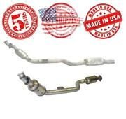 Front Left And Right Catalytic Converter For Mercedes-benz S500 Cl500 S430 00-03