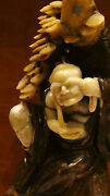 Antique Chinese Jade Carved Statue Depicts Chinese Legend Of Lady White Snake15