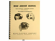 Wico Service And Parts Manual For Type F, Fg, Fga, Fgb, And Fgs Magnetos  443
