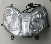 Chinese 150cc Gas Scooter Headlight Assembly Peace Sports Tpgs-808 150cc