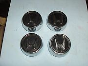 Vintage Honda Wheel Center Cap Set Cvcc Early Civic Classic 1970and039s 1980and039s