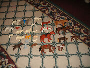 Vintage Lot Of 31 Plastic Farm Animals Heads Move Dogs Cats Cows Sheep Pigs Goat