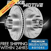 Front Drill And Slot Brake Rotors For 1965 1966 1967 Ford Mustang 1967 Fairlane