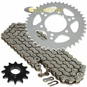 Drive Chain And Sprockets Kit For Polaris Trail Boss 250 1995 1996 1997 1998 1999