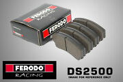 Ferodo Ds2500 Racing For Renault Rapid 1.6 D Front Brake Pads 86-91 Bdx Rally