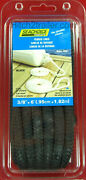 Seachoice 40961 Fender Line Pair 3/8 X 6and039 Black Double Braided Nylon Boat Rope