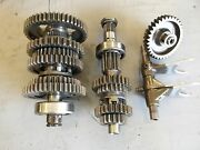 Honda 300ex Trx300ex Engine Transmission And Shift Forks And Drum 2006 Sportrax Nice