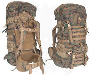 Usmc Marpat Ilbe Main Pack Complete - Very Good Cond - Latest Mesh Vented Gen 2