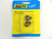 2 Replacement Stainless Steel Fender Lock Eyes For Boats Seachoice 50-30131