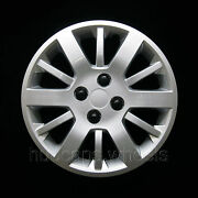 Chevy Cobalt 2009-2010 Hubcap - Premium Replacement 15-inch Wheel Cover - Silver