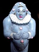 Celluloid Buffoon Antique Baby Rattle French Toys 1950's