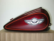 Harley Davidson 2003 Flh 100th Anniversary Luxury Red Motorcycle Fuel Gas Tank