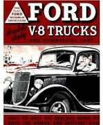 Ford Pickup Truck Steel Running Board Set 1935-1937 - Made In Usa