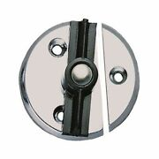 Perko Fig. 1216 Door Button With Spring 1216 Dp0 Chr 1-3/4 Od Md