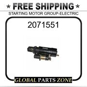 2071551 - Starting Motor Group-electric 10r0405 6v5821 0r4911 9x4507 2071541 For