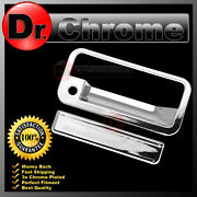 92-94 Chevy Blazer Chrome Abs Tailgate With Keyhole Handle Cover Truck Trim