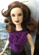 Twilight Saga Barbie Esme Doll With Signature Flowing Long Hair And Ruffled Top