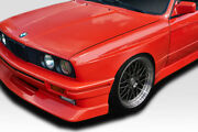 For 84-91 Bmw 3 Series E30 M3 Look Wide Body Front Fenders 2pc 116007