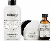 Philosophy Miracle Worker Lactic Cleanser 8 Oz + Retinoid 2 Oz+ Pads 60 New