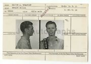 Police Booking Sheet - Marion A. Wheatley - Beverly Hills