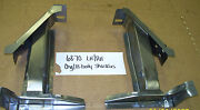 Plymouth Dodge B Body Rear Spring Shackle Support Rail Assembly Set 1968-1970