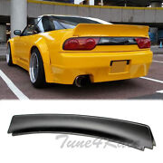 For 89-94 240sx S13 Hatchback Bunny Style Rear Trunk Spoiler Wing Abs Plastic