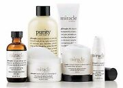Philosophy Miracle Worker Neck Cream -purity-retinoid Pads- Solution And More Kit