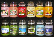 Yankee Candle - 1 22 Oz Jar - Spring And Summer Scents - Rare And Retired