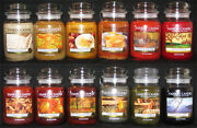 Yankee Candle - 1 22 Oz Jar - Fall Scents - Many Rare And Retired
