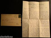 1881 Signed Letter-joseph E. Brown-u.s. Senate-letter To Son Elijah Alexander