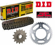 Daelim Vs125 Evolution 00-03 Heavy Duty Did Motorcycle Chain And Sprocket Kit