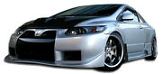 For 06-11 Honda Civic 2dr Gt500 Wide Body Kit 8pc 105297