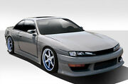 For 97-98 Nissan 240sx V-speed Wide Body Kit 8pc 109518