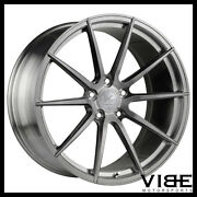 20 Vertini Vs Forged Vs01 Brushed Concave Wheels Rims Fits Audi C7 A6