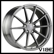 20 Vertini Vs Forged Vs01 Brushed Concave Wheels Rims Fits Nissan Gtr
