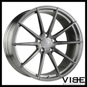 20 Vertini Vs Forged Vs01 Brushed Concave Wheels Rims Fits Nissan 350z