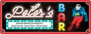 Custom Sports Bar Sign For Any Team Retro Neon Style Ultimate Fan Gift C1342