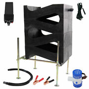 Gold Cube 4 Stack Deluxe Complete Gold Prospecting Kit And 120 Volt Power Supply