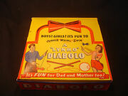 Old Vtg A Lyndo Diabolo Boys Girls Its Fun To Juggle Whirl Spin Game