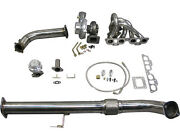 Gt35 Turbo Kit For 240sx S13 S14 Chassis With Sr20det Swap Bolt On Top Mount