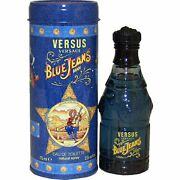 Blue Jeans By Versus Gianni Versace 2.5 Oz Edt Cologne For Men New In Can