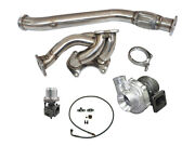 Cxracing Top Mount Turbo Manifold Downpipe Kit For Rx-7 Fd 13b Engine Rx7