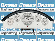 1957 Ford Fairlane Gauge Adapter Panels W/ Auto Meter Old Tyme White