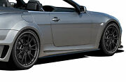04-10 Bmw 6 Series E63 E64 2dr Convertible Af-2 Widebody Side Skirts 2pc 109266